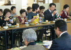 JA 海部東農業協同組合(あまひがし) -ミニデイで昼食会
