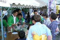 JA 海部東農業協同組合(あまひがし) -特産の小松菜を無料配布