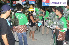 JA 海部東農業協同組合(あまひがし) -夏祭りで地元農産物をPR
