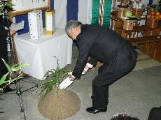 JA 海部東農業協同組合(あまひがし) -美和ライスセンターの改修に向け起工式