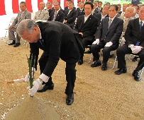 JA 海部東農業協同組合(あまひがし) -新築工事の無事を祈願