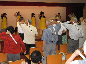 JA 海部東農業協同組合(あまひがし) -「なの花の会」がミニデイサービスを開催