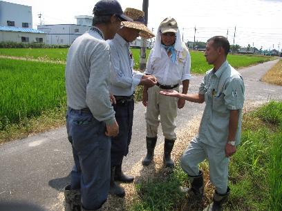 JA 海部東農業協同組合(あまひがし) -早めの防除で稲を守ろう