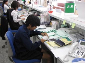 JA 海部東農業協同組合(あまひがし) -管内中学校の職場体験学習に協力