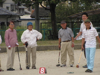 JA 海部東農業協同組合(あまひがし) -年金受給者友の会グラウンドゴルフ大会予選開かれる(その1)