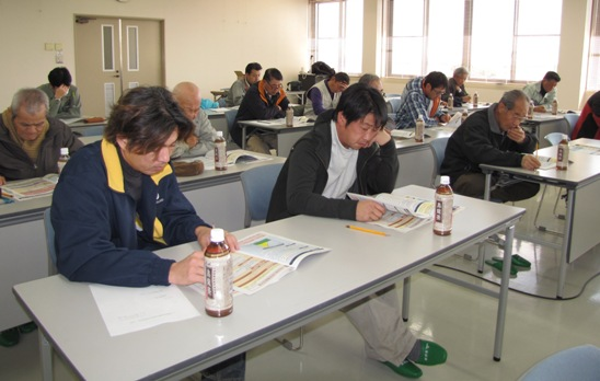 JA 海部東農業協同組合(あまひがし) -全体研修で知識を深める