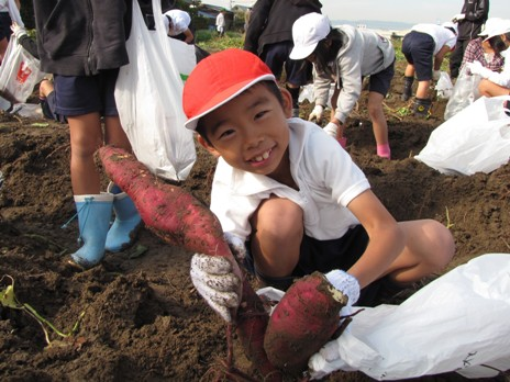 JA 海部東農業協同組合(あまひがし) -10月25日篠田小学校1~3年生(約150人)