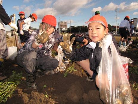 JA 海部東農業協同組合(あまひがし) -次々と出てくるジャガイモにビックリ