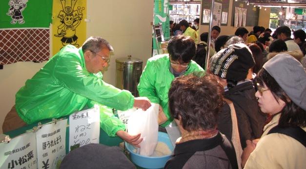 JA 海部東農業協同組合(あまひがし) -農林水産フェアが大盛況