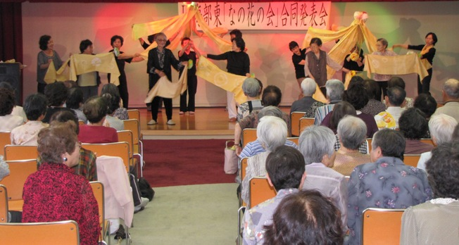 JA 海部東農業協同組合(あまひがし) -「なの花の会」が合同発表会を開く