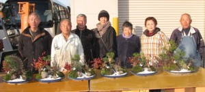 JA 海部東農業協同組合(あまひがし) -松竹梅の植木教室を開催