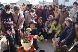 JA 海部東農業協同組合(あまひがし) -お正月にぴったりな寄せ植え作り