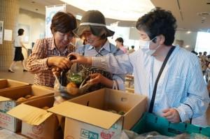 JA 海部東農業協同組合(あまひがし) -東日本大震災復興支援チャリティイベントに参加
