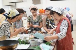 七宝女性部料理