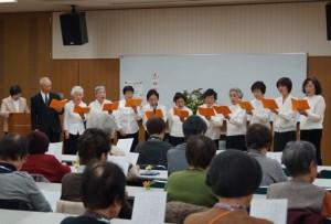 JA 海部東農業協同組合(あまひがし) -新年恒例の詩吟発表会を開く