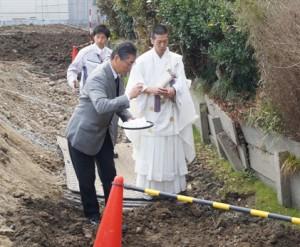 JA 海部東農業協同組合(あまひがし) -賃貸住宅建設の安全祈願