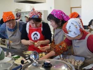 女性部料理