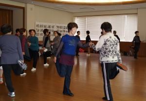 JA 海部東農業協同組合(あまひがし) -今年度初のJA体操教室始まる