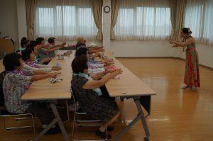 JA 海部東農業協同組合(あまひがし) -なの花の会 ミニデイ フラダンス