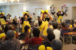 JA 海部東農業協同組合(あまひがし) -なの花の会 特別養護老人ホームで活躍