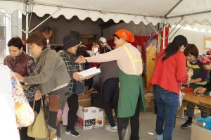 JA 海部東農業協同組合(あまひがし) -女性部 チャリティーバザーを行い地域貢献