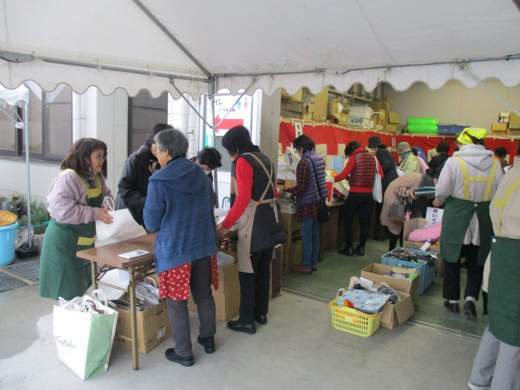 JA 海部東農業協同組合(あまひがし) -チャリティバザーを行い地域貢献