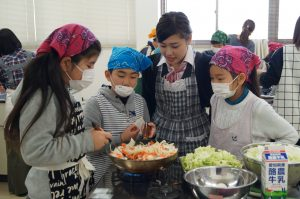 JA 海部東農業協同組合(あまひがし) -子どものうぎょうきょうどうくみあい 冬野菜を使った料理