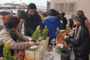 JA 海部東農業協同組合(あまひがし) -春まで楽しめる寄せ植え