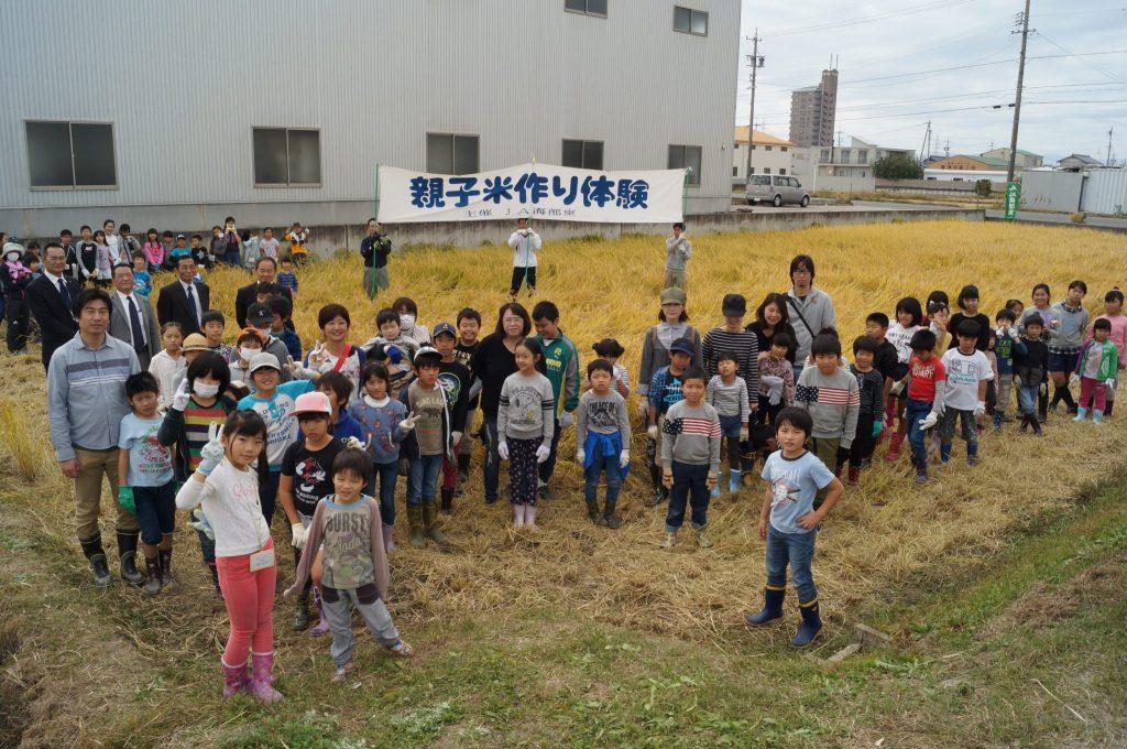 JA 海部東農業協同組合(あまひがし) -保護中: 親子米作り体験(稲刈り)