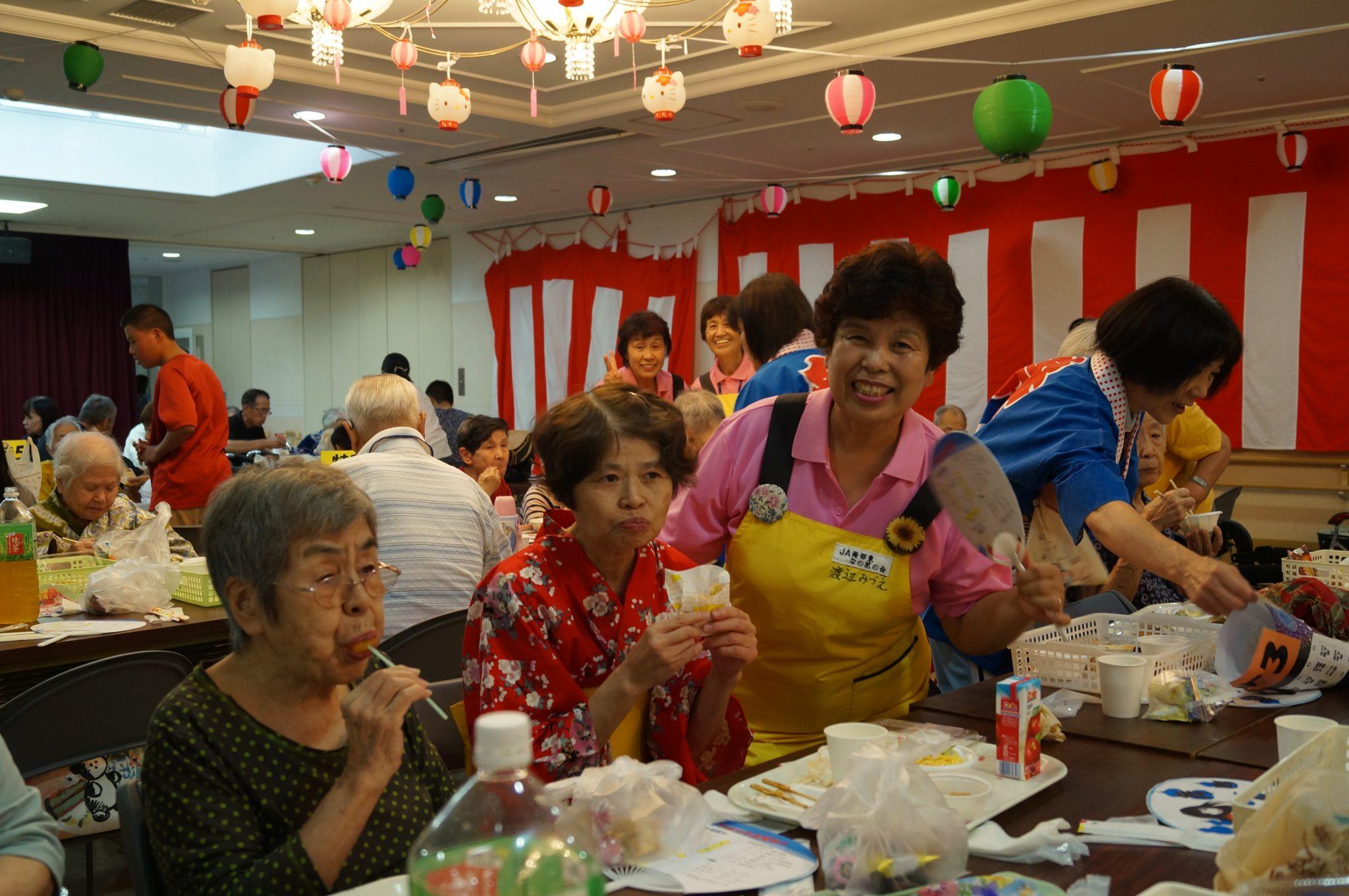 JA 海部東農業協同組合(あまひがし) -なの花の会 夏祭りに協力