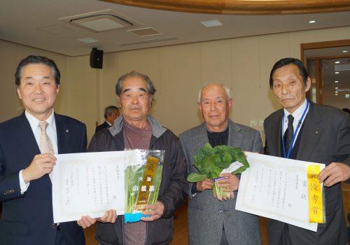 JA 海部東農業協同組合(あまひがし) -良品が揃った品評会