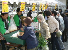JA 海部東農業協同組合(あまひがし) -大治支店で春の感謝祭