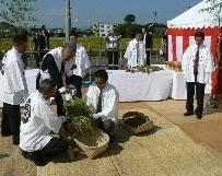 JA 海部東農業協同組合(あまひがし) -収穫を祝い刈穂祭行う