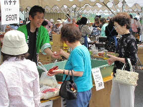 JA 海部東農業協同組合(あまひがし) -売出しを通じて地元と交流