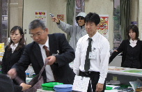JA 海部東農業協同組合(あまひがし) -年末に向け防犯訓練を行う