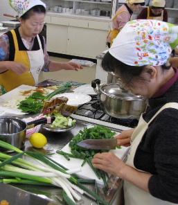 JA 海部東農業協同組合(あまひがし) -伝統野菜を味わおう 料理教室開く