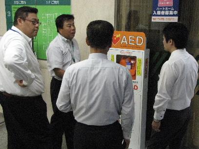 JA 海部東農業協同組合(あまひがし) -緊急時に備え AEDを設置