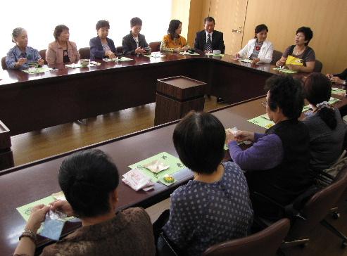 JA 海部東農業協同組合(あまひがし) -情報交換会で助け合い組織のレべルアップを