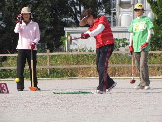JA 海部東農業協同組合(あまひがし) -年金受給者友の会グラウンドゴルフ大会予選開かれる(その2)