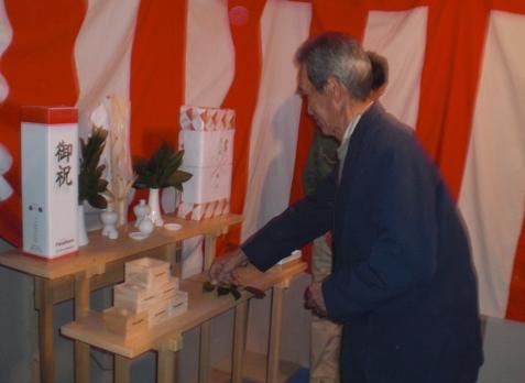 JA 海部東農業協同組合(あまひがし) -賃貸住宅の上棟祭を行う