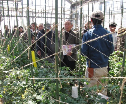 JA 海部東農業協同組合(あまひがし) -視察研修で知識をどっさり仕入れる