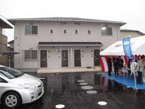JA 海部東農業協同組合(あまひがし) -維持管理費が低コストな賃貸住宅が完成