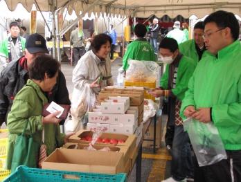 JA 海部東農業協同組合(あまひがし) -春の陽気で感謝祭・大売出し大盛況