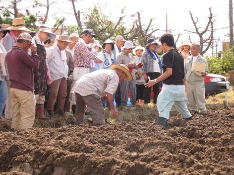JA 海部東農業協同組合(あまひがし) -「畑の学校」で伝統野菜の種まき