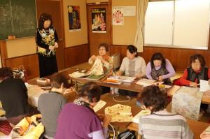 JA 海部東農業協同組合(あまひがし) -古布を使ったのれん作りに初挑戦