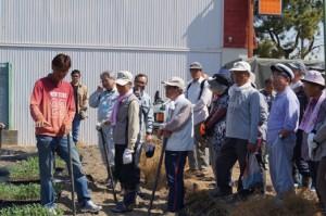 JA 海部東農業協同組合(あまひがし) -畑の学校に青年部協力