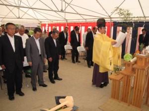 JA 海部東農業協同組合(あまひがし) -JA海部東大治支店が建替えに向け起工式を行う