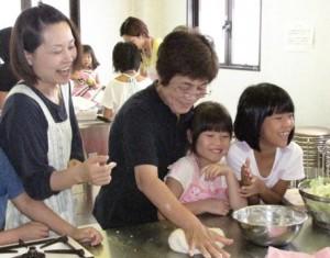 JA 海部東農業協同組合(あまひがし) -料理教室でモロヘイヤを使ったパン作り