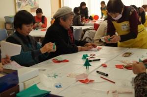JA 海部東農業協同組合(あまひがし) -甚目寺支店冬の感謝祭、「なの花の会」ミニデイを行う