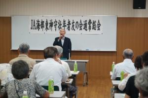 JA 海部東農業協同組合(あまひがし) -神守壮年者友の会、第22回通常総会を開く